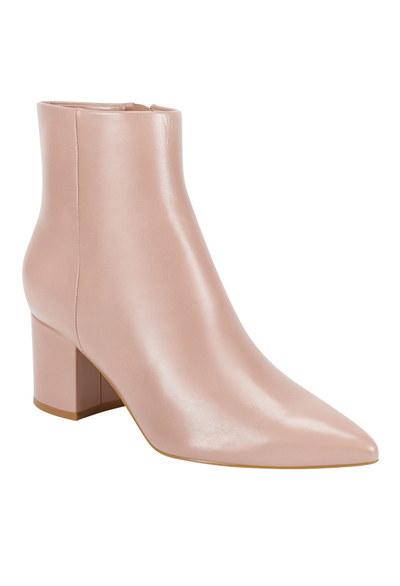 Marc Fisher Jarli Leather Bootie, Taupe