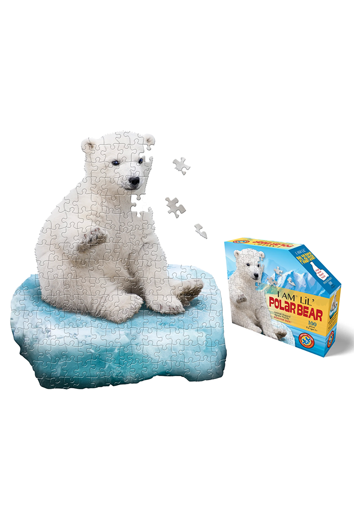 Jr. Puzzle: I Am Lil Polar Bear, 100 pieces