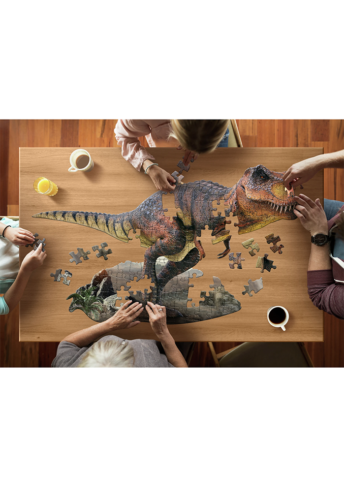 Jr. Puzzle: I Am T-Rex, 100 pieces