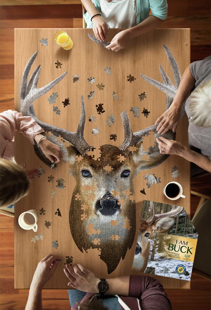 Puzzle: I Am Buck, 550 pieces