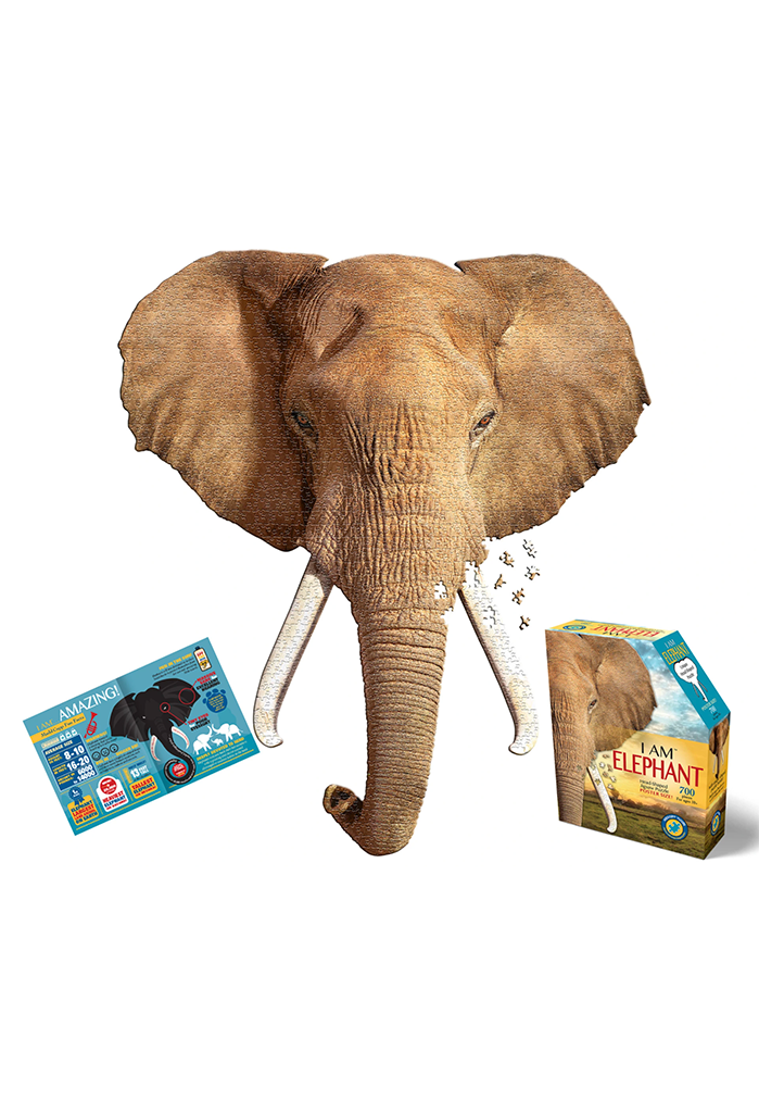 Puzzle: I Am Elephant, 700 pieces