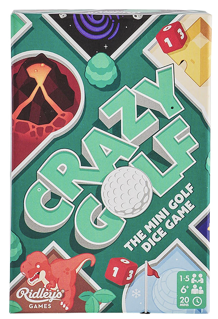 Crazy Golf Game