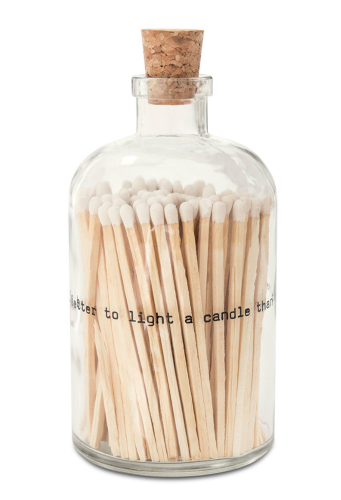 Apothecary Jar Matches, Poetry