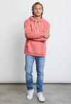 RAILS Apollo Hooded Sweatshirt, Faded Red
