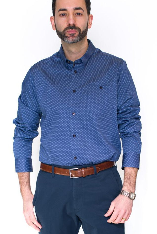 Ted Baker Waterlo Circle Geo Shirt