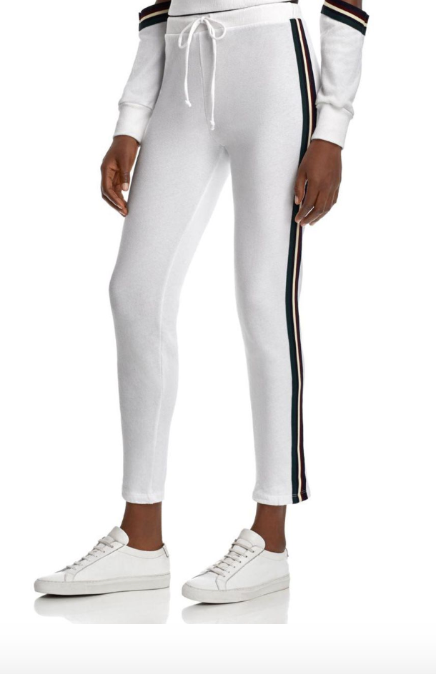 The Marcus Elastic Stripe Sweatpant