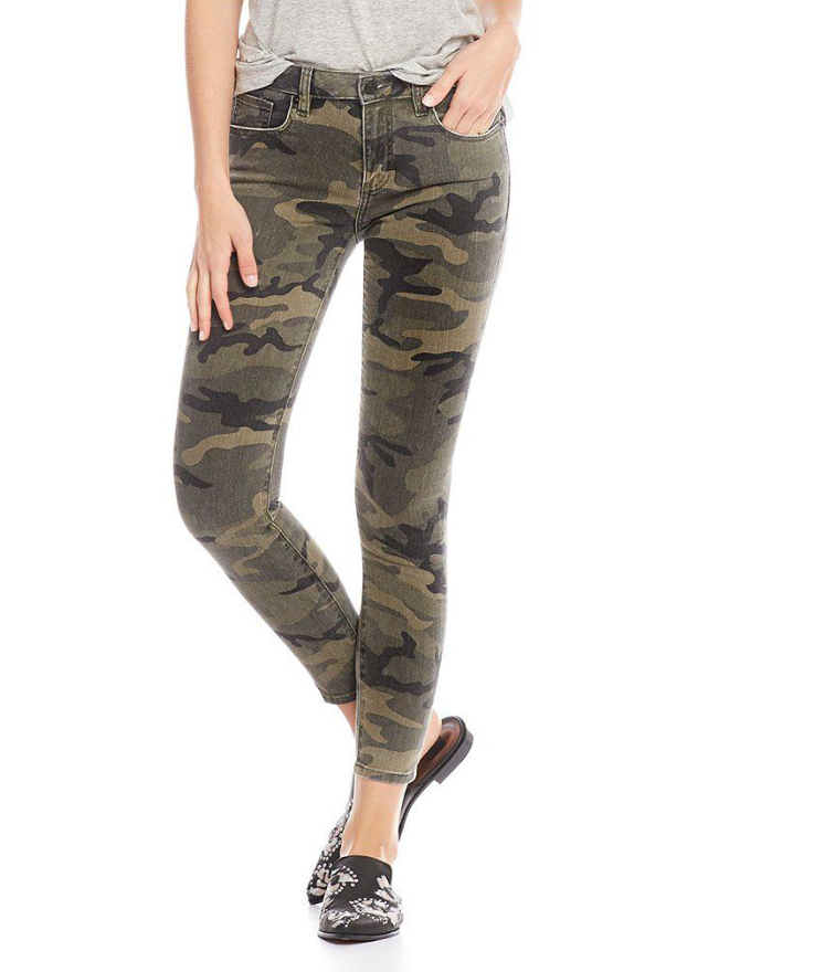 Ankle Skinny Vintage Camo Pant
