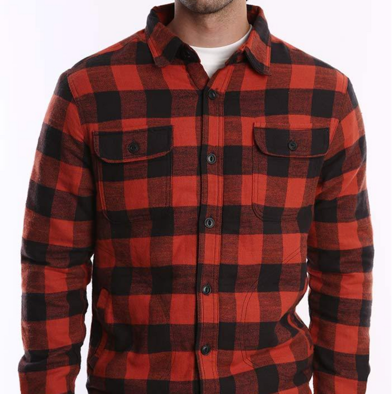 Buffalo Check Shirt Jacket