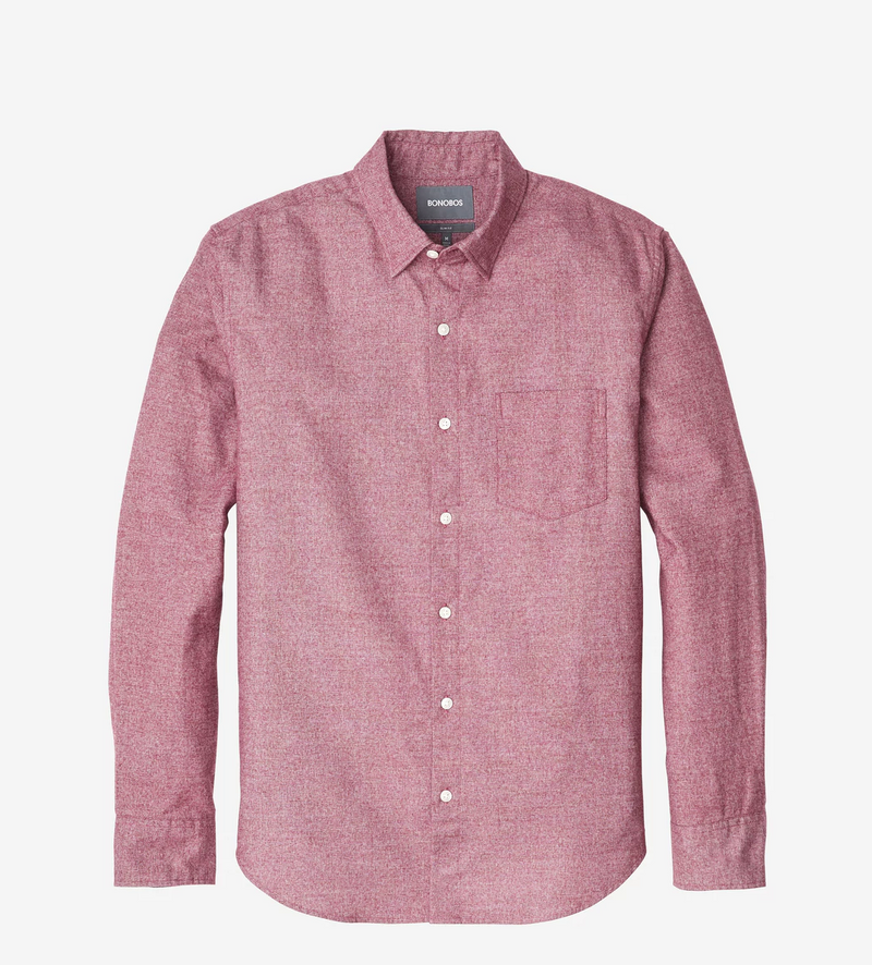 Bonobos Brushed Button Down Slim