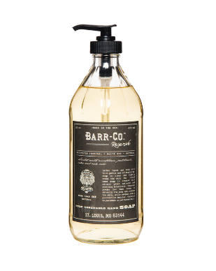 Barr Co. Reserve Scent Pure Vegetable Hand Soap