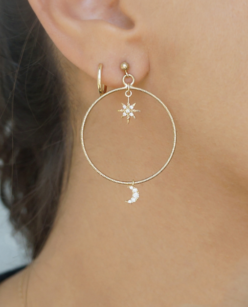 Planet Star/Moon Hoops