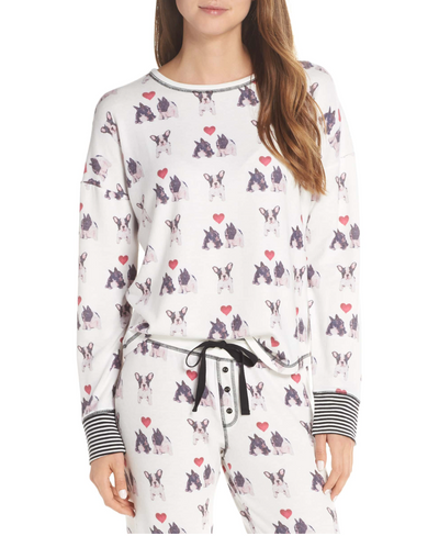 PJ Salvage French Bulldog PJ Set - RUST & Co.