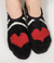 PJ Salvage Paw/Heart Slipper Socks