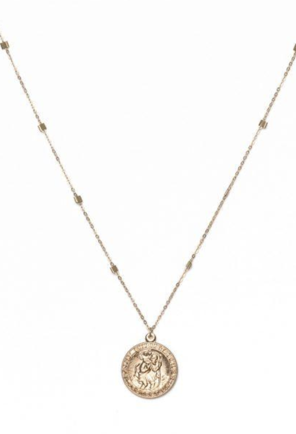 Saint Medallion Necklace