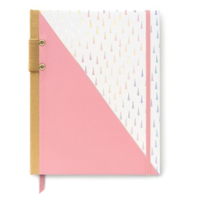 Hard Cover Irredescent Triangle Journal