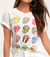 Rolling Stones 12 Tongues Boyfriend T-shirt