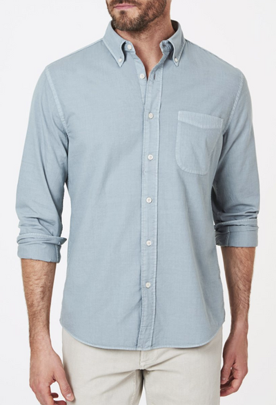 Faherty GSD Cotton Shirt - RUST & Co.