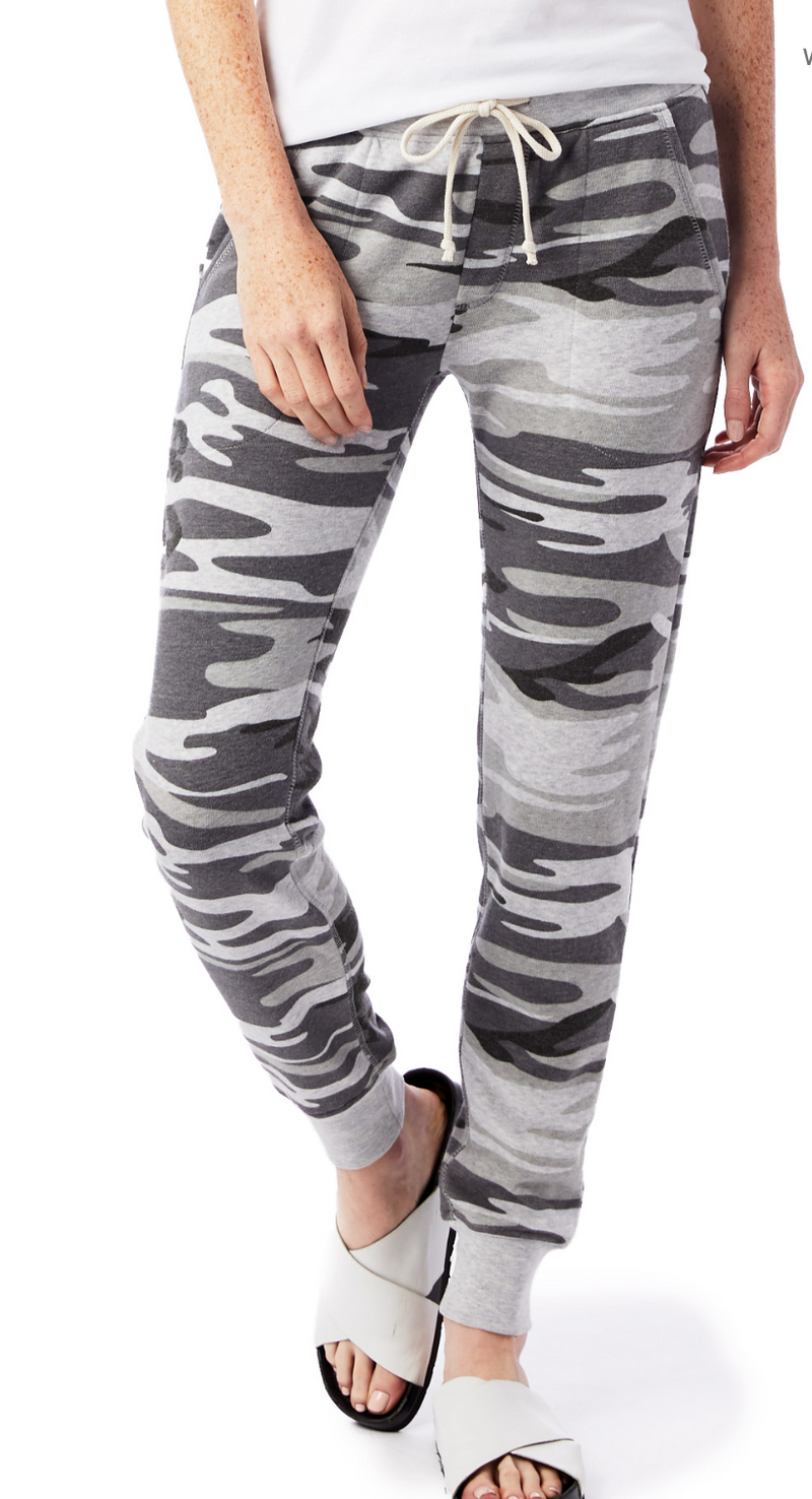 Alternative Eco Grey Camo Sweatpant