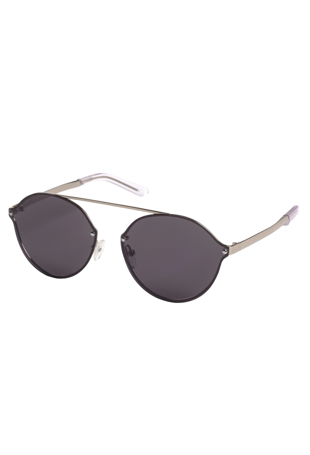 Pilgrim Sunglasses, Zadie Silver Plated Grey