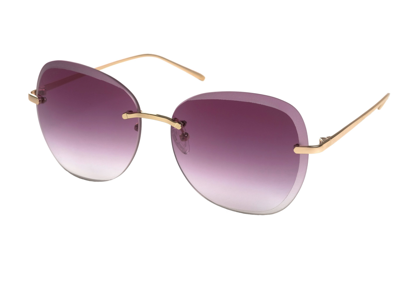 Pilgrim Sunglasses, Dolly Gold Plated Smokey Lense