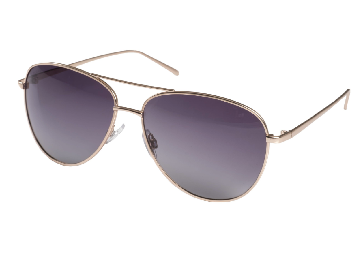 Pilgrim Sunglasses, Nani Gold Plated Aviators