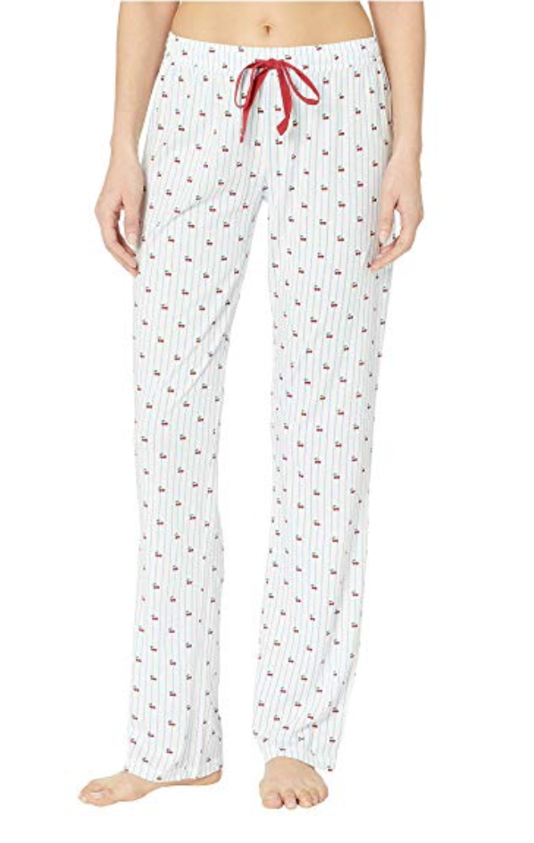 PJ Salvage Cherry Stripe Pant
