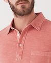 Faherty Sunwashed Polo - RUST & Co.