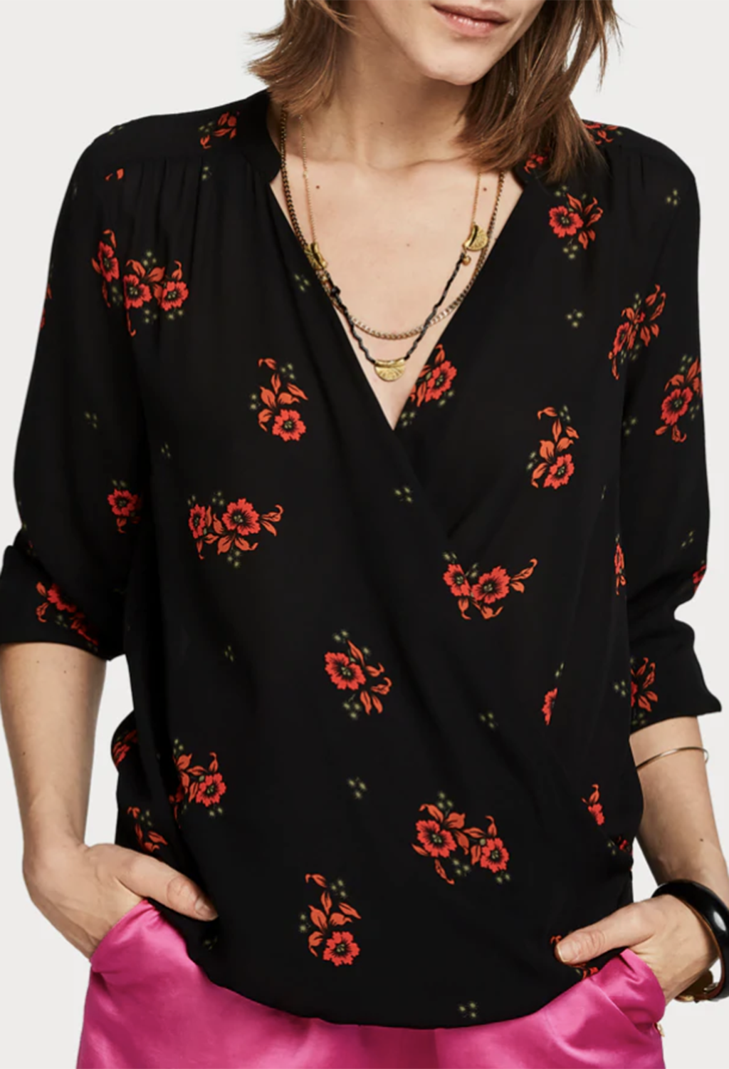 Scotch & Soda Floral Top