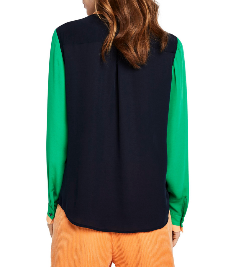 Scotch & Soda Color Blocked Blouse