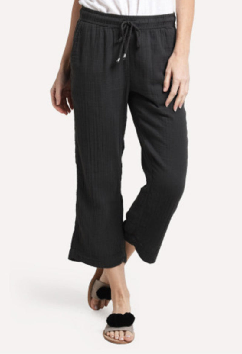 Cotton Guaze Crop Pant