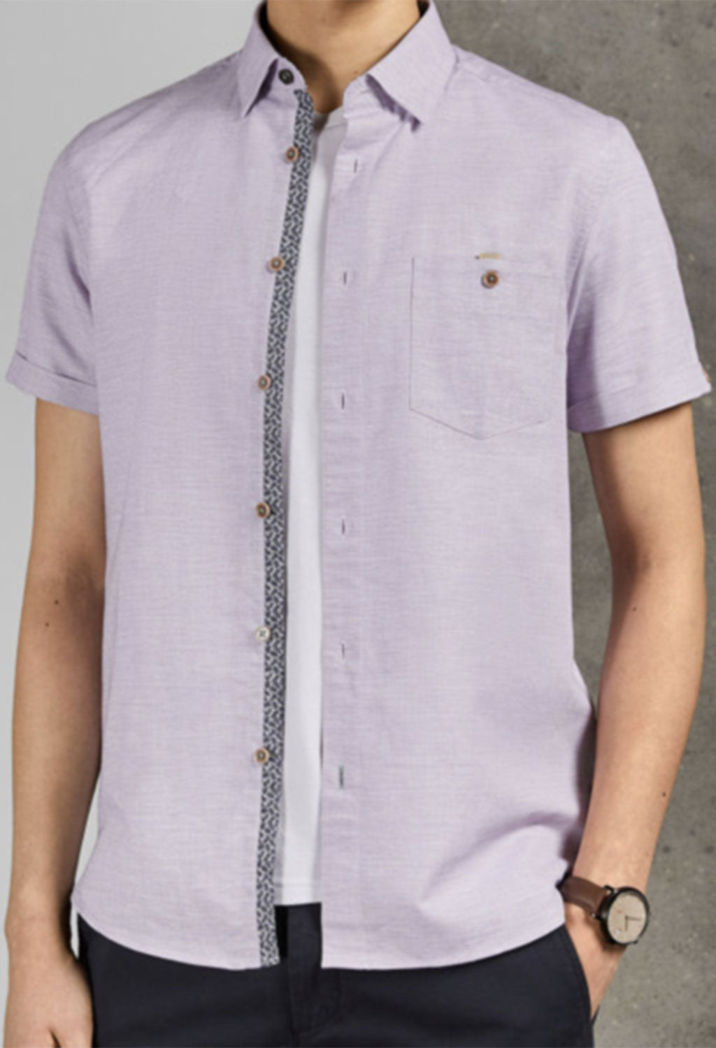 Ted Baker Clion Short Sleeve Shirt
