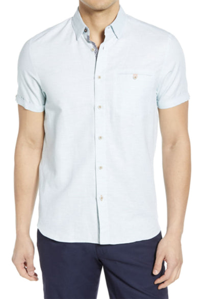 Ted Baker Clion Short Sleeve Shirt - RUST & Co.