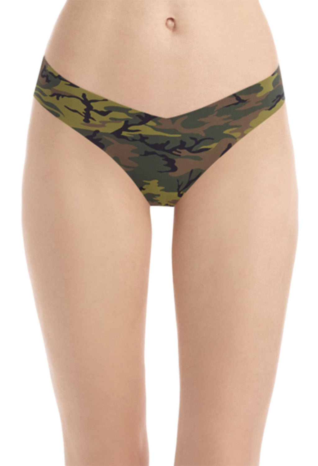 Commando Thong Underwear, Camo