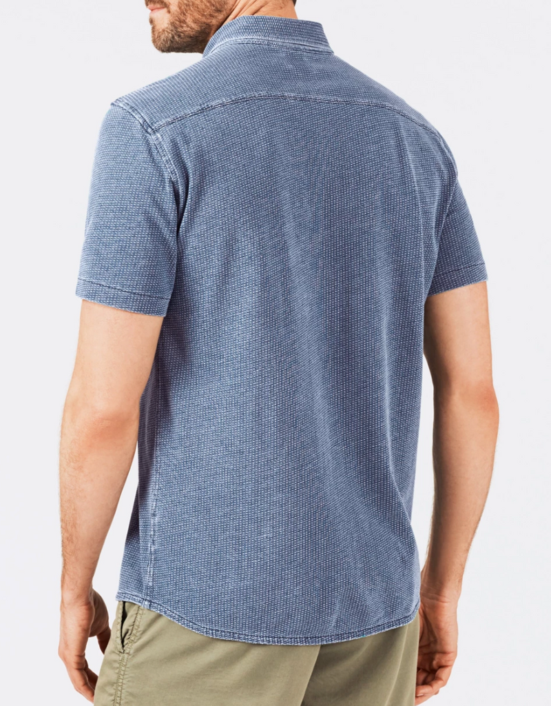 Faherty Short Sleeve Knit Everyday Shirt