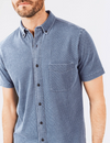 Faherty Short Sleeve Knit Everyday Shirt - RUST & Co.