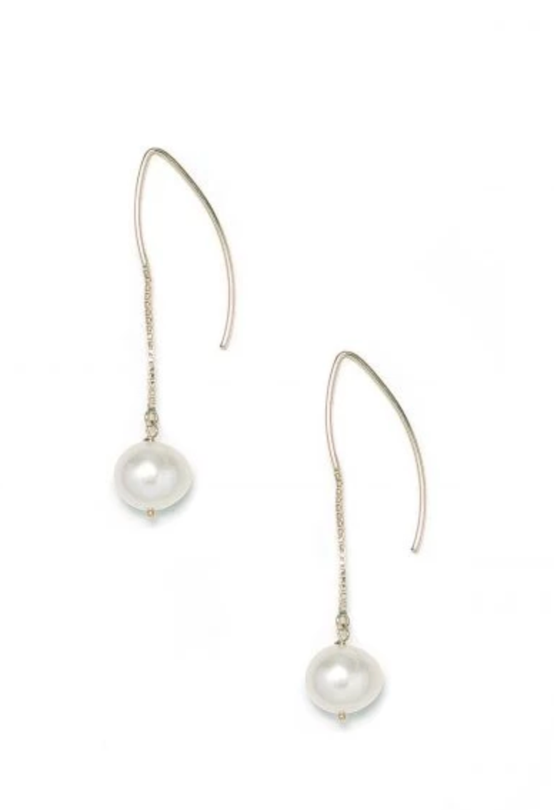 Pearl Drop Earrings - RUST & Co.