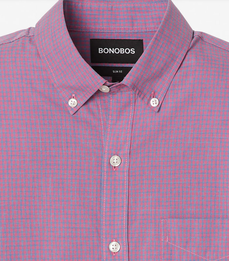 Bonobos Lightweight Button Down - RUST & Co.