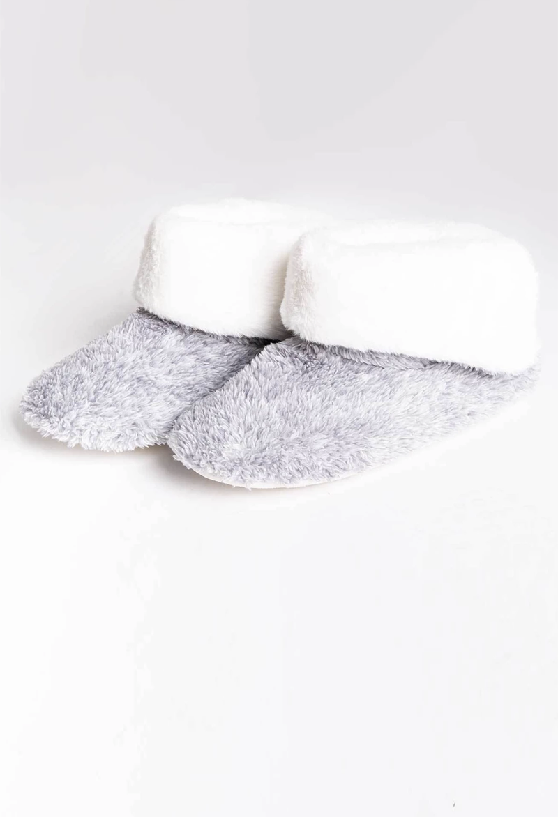 PJ Salvage Plush Slipper Bootie