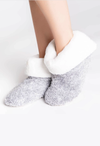 PJ Salvage Plush Slipper Bootie - RUST & Co.
