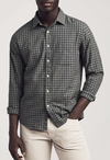 Faherty Everyday Shirt, Olive Black Gingham - RUST & Co.