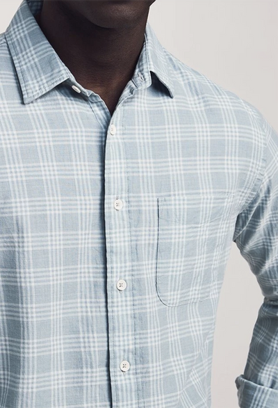 Faherty Everyday Shirt, Meadows Plaid - RUST & Co.
