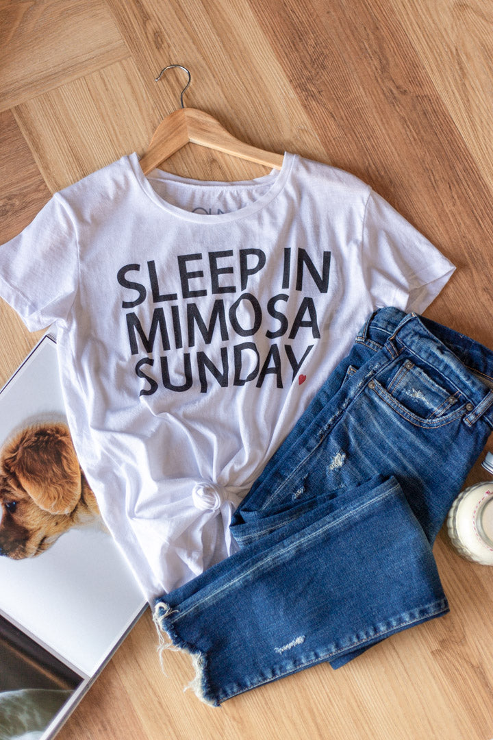 Chaser Mimosa Sunday Tee - RUST & Co.