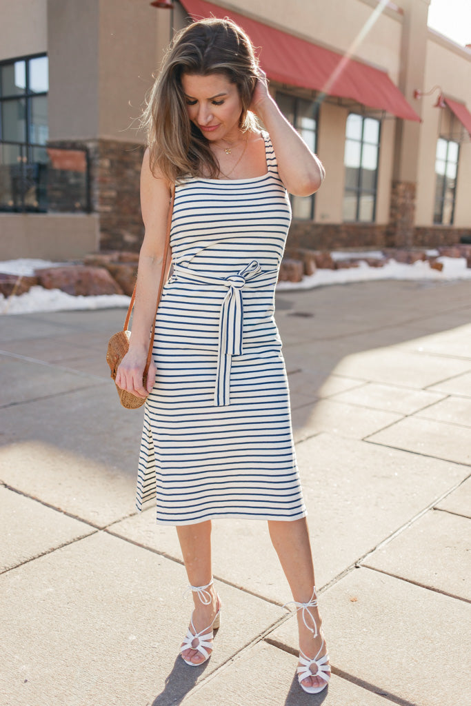 Rails Taylin Striped Knit Dress