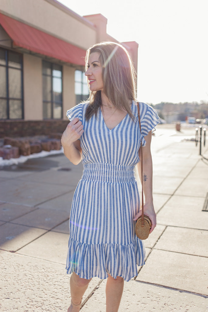 Rails Tara Striped Dress