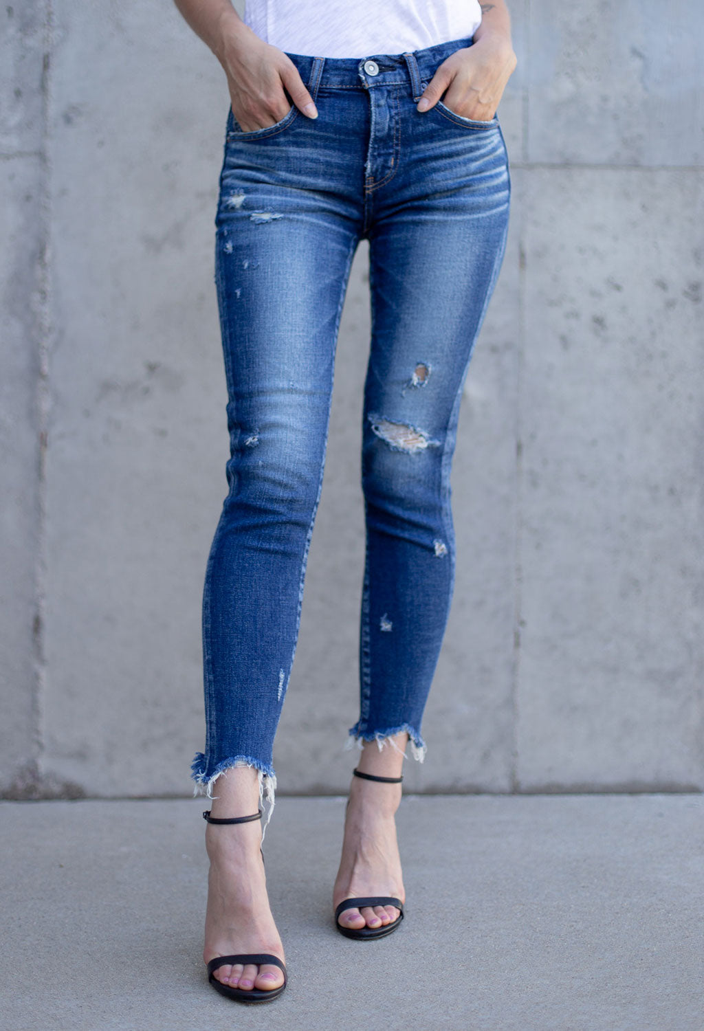 Moussy Glendele Skinny - RUST & Co.