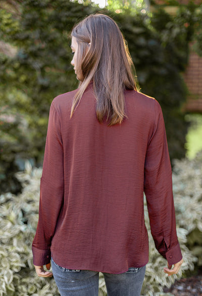 Clara Henley Top - RUST & Co.