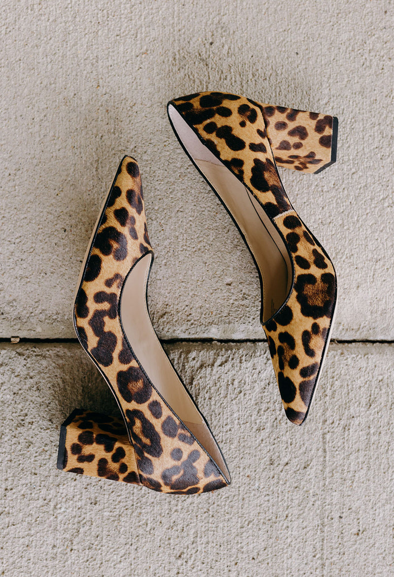 Marc Fisher Zalaly Leopard Pump - RUST & Co.