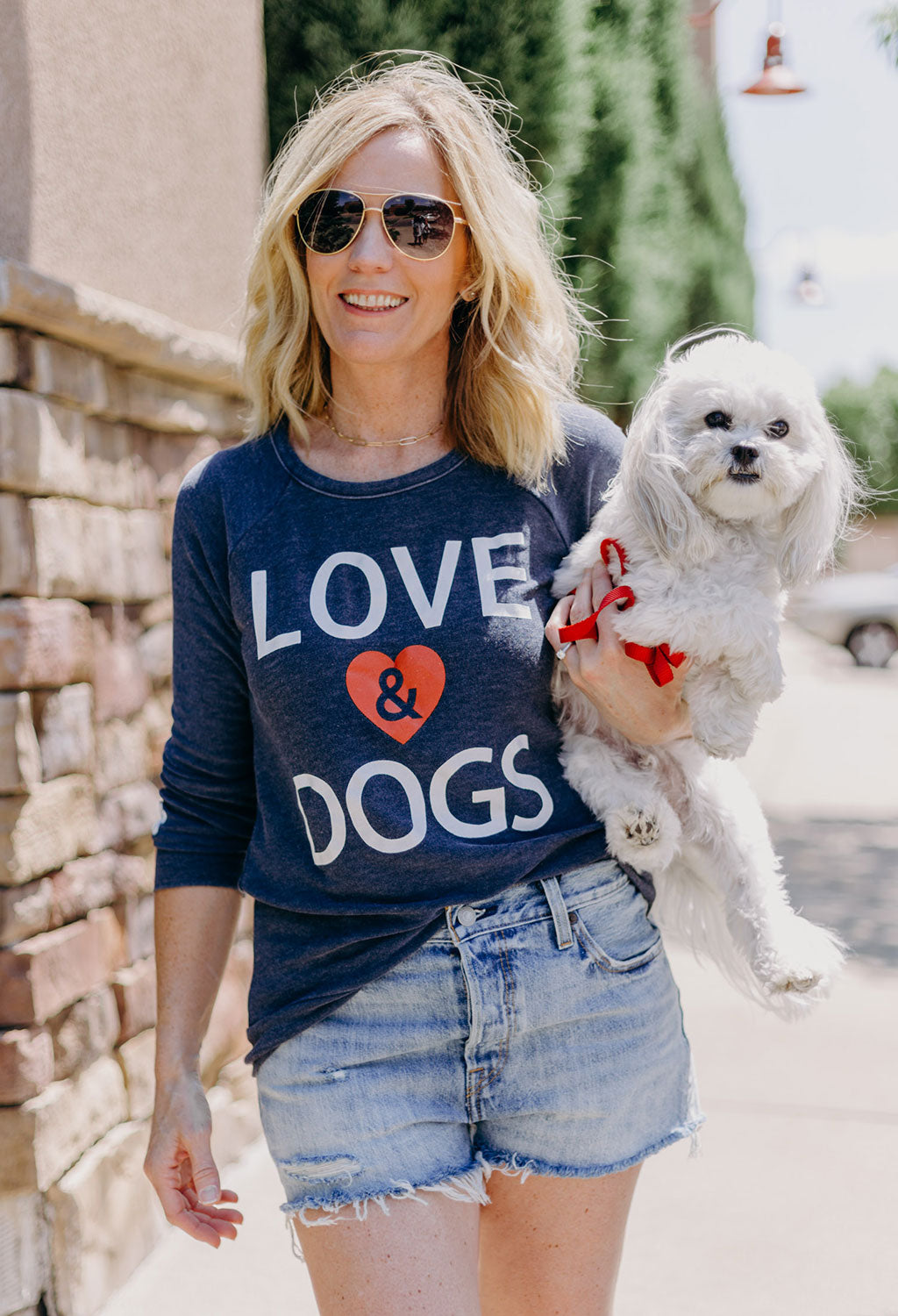 Love & Dogs Cozy Knit Top