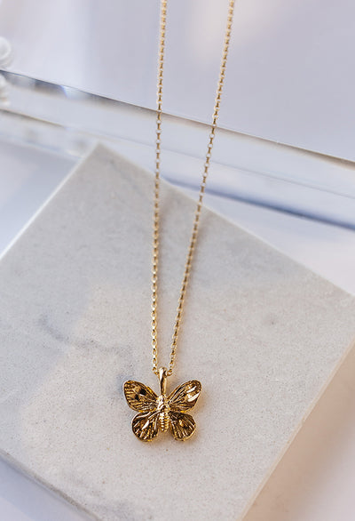 Mariposa Necklace, 15""
