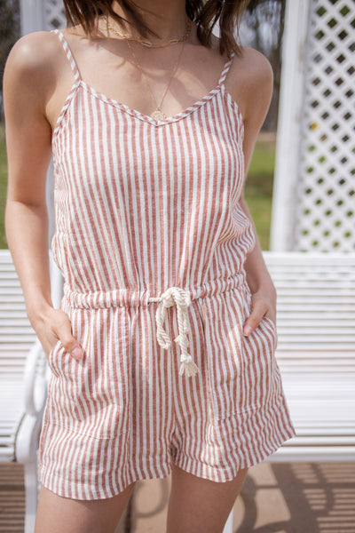 Hailey Shorts Romper - RUST & Co.